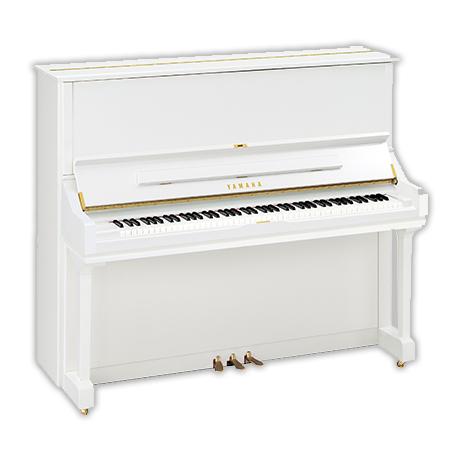 PIANOFORTE VERTICALE YAMAHA U3 BIANCO LUCIDO – Musicalmente